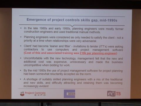 PCE 2016 - Blazing the Project Controls Skills Trail - Shane Forth & Catherine Lambert